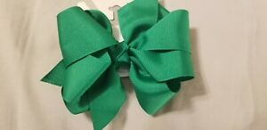 Wee Ones Kelly Green Medium Double Bow!
