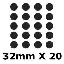 Warhammer Wargame Round Bases 32mm X 20