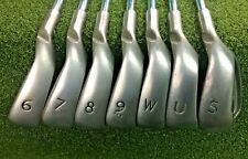 Ping G10 White Dot Iron Set 6-W + UW + G20 SW   RH / AWT Regular / Nice / mm3678