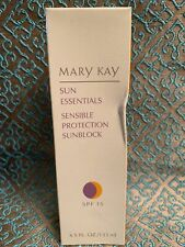 Brand New Mary Kay Sun Essentials Sensible Sunblock SPF 15  #4764