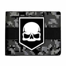 Bioworld Call of Duty Ghost Skull Digi Camo Bi-Fold Wallet