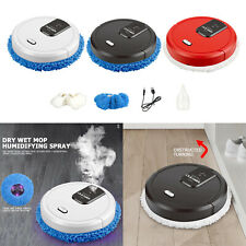 Home Clean Machine Low Noise Cordless Automatic Robot Vacuum Floor Sweeper