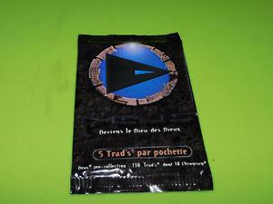 POCHETTE  - TRAD'S CARTES - DEUS - SERIE I - 1996 - SCELLEE - BOOSTER