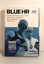Wahoo Fitness Blue HR Heart Rate Monitor With Iphone Heart Monitor Chest Strap