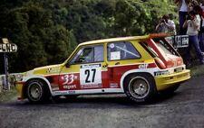 decal 1/43 Renault 5 Maxi Tour de Corse rally 1995  Auriol 33 export top Skid