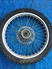 2000 00 Yamaha Yz426f Yz 426 Yz426 Front Wheel Assembly Rim Hub Tire Rotor