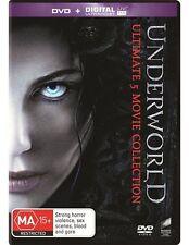 Underworld 5 Ultimate Movie Collection Brand New R4 DVD 1 2 3 4 5