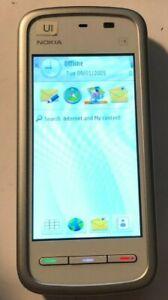 PROTOTYPE Nokia 5230 Nuron White (Consumer Cellular) Smartphone MINT UI