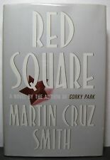 RED SQUARE by Martin Cruz Smith, signed First edition/First printing hardback