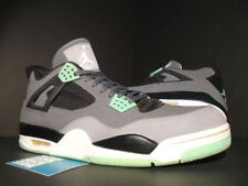 Nike Air Jordan IV 4 Retro CEMENT GREY WHITE BLACK GREEN GLOW OG 308497-033 14