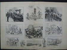 Illustrated London News Double-Page S8#11 Jan 1888 Gordon Memorial Boys' Home