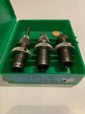 RCBS Three Die Carbide Set for 9mm Luger