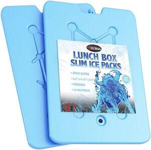 Kona Ice Packs for Lunch Boxes - Reusable (-5C) Freezer Packs