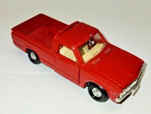Yonezawa Toys Diapet Red Datsun 620 Pickup Truck, neat!
