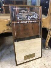 Rare Original Vintage 1950's Ford Dealer Promo Mirror Authentic Advertising