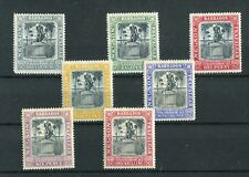Barbados KEVII 1906 set of 7 SG145/51 mint hinged