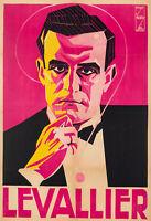 Affiche Originale - Georges Nicolitch - Levallier - Magicien - Magie – 1946