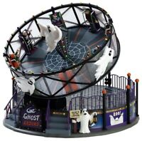 """Lemax Spooky Town """"Ghost Around"""" RARE NIB Sights & Sounds Halloween Carnival"""
