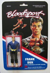 Custom made 3 3/4 Bloodsport Vintage Style Action Figure
