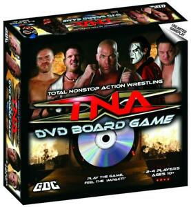 TNA Wrestling DVD Board Game 2008 New Sealed 2-4 Players Age 10+