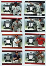 2007 UPPER DECK UD Game Materials Baseball 30 Card Lot