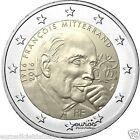 """Pièce 2 euros commémorative FRANCE 2016 - """"François Mitterrand"""" - UNC - DISPO"""