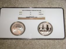 2010-W DISABLED VETERANS Commemorative Silver Dollars
