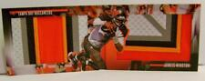 JAMEIS WINSTON GAME OF INCHES BOOKLET BOOK CARD RELIC 2/10 PANINI PREFERRED 2017