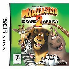 DS GAME: MADAGASCAR 2 ESCAPE TO AFRICA