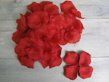 Silk Rose Petals Ideal for Wedding Celebrations Birthday Engagement Decoration Red 500