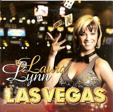 LAURA LYNN - las vegas CD SINGLE 2TR europop 2008 RARE!