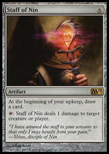 Bastone di Nin - Staff of Nin MTG MAGIC M13 Magic 2013 Ita
