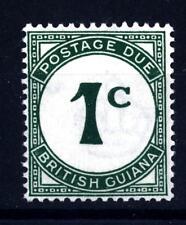 BRITISH GUIANA - GUYANA BRITANNICA - 1940-1952 - Segnatasse: cifra e nome del p