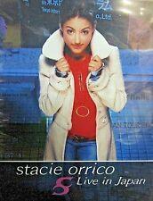 Stacie Orrico: Live In Japan NEW! DVD Concert ,2004,Christian Pop Music