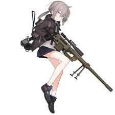 "Girls Frontline UMP45 Waifu Sticker 6/"" Car Decal"