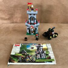 7948 Lego Complete Outpost Attack castle knights instruction book torn pale face