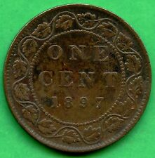 1897 Canada Large 1 Cent Coin