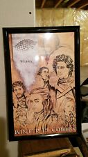 Game Of Thrones Stark Winter Is Coming Framed Print