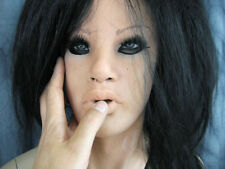 Latex Mask MAYLEE +LASHES +WIG - Real. Female Rubber Mask Face Cosplay Sissy