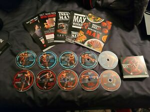 Insanity Max 30 full workout DVD set