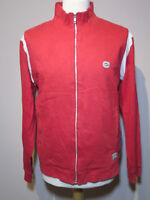 Nike Red Cotton Track Top -  Size M