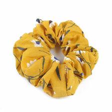 Cute Girls Ponytail Bun Tie Scrunchies Hair Band Elastic Scrunchie Hair Ring