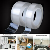 Multi-function Double-sided Adhesive Nano Tape Washable Removable Gel Sticker