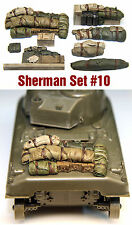 1/35 Scale Resin kit Sherman Tank Engine Deck and Stowage Sets #10