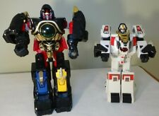 Bandai Mighty Morphin Power Rangers MMPR Thunder and White Tiger Megazords