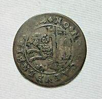 SWITZERLAND, CANTON. SCHAFFHAUSEN. SILVER 12 KREUZER, 1622.