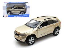2011 Jeep Grand Cherokee Laredo SUV Gold 1/24 Diecast Car Model By Maisto 31205
