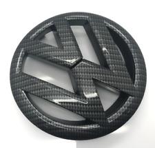 Carbon Fiber VW Logo Golf MK6 Front Badge Emblem TDI GTI GTD TSI R