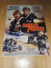 DELTA FORCE - Kinoplakat A1 ´86 - CHUCK NORRIS Lee Marvin