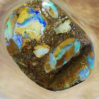 Amazing 20.15CT +VIDEO Australia Queensland Boulder Opal ROUGH / RUB